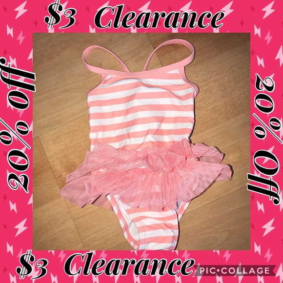 Mixed Items & Lots Baby Girl Swimsuit Bundle 3-6 Months Girls' Clothing (newborn-5t)